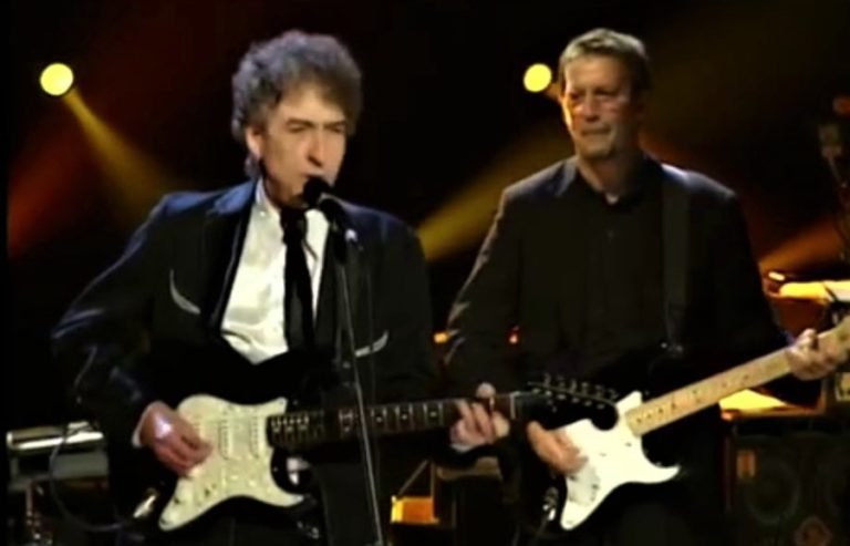 Remembering Bob Dylan and Eric Clapton's duet on 'Don't Think Twice It's All Right'