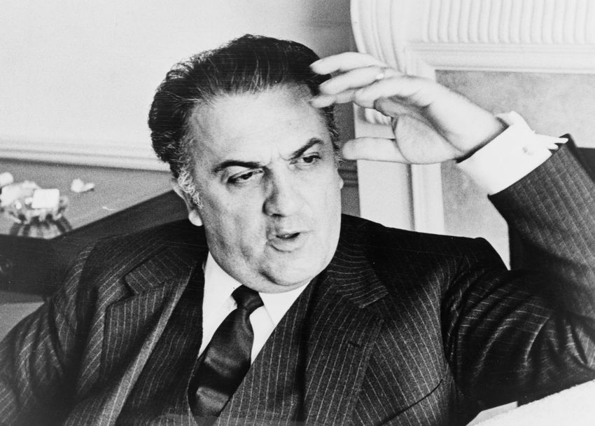 The great Federico Fellini created a list of his 10 favourite films of all time
