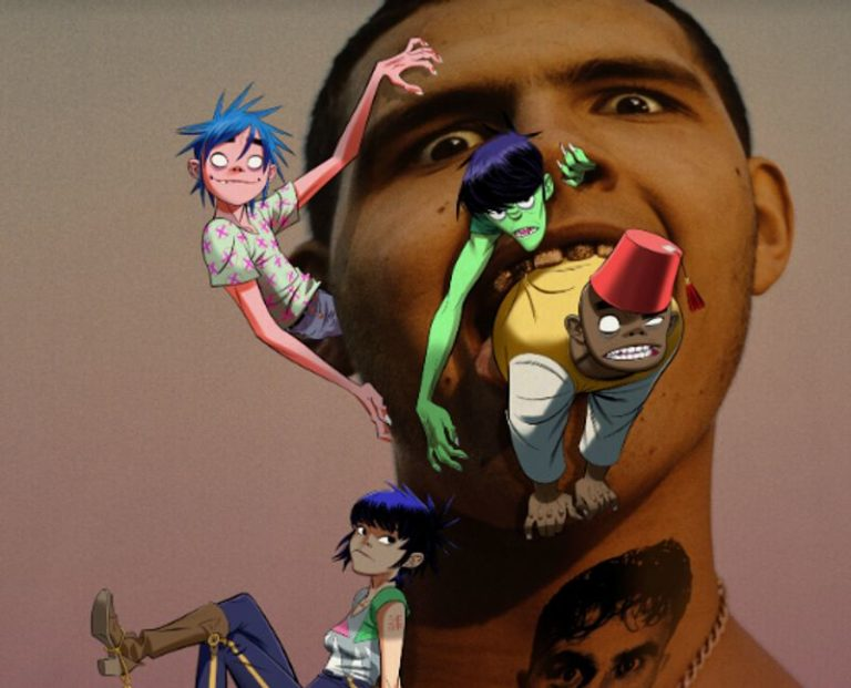 Gorillaz announce new song with 'Machine Project'