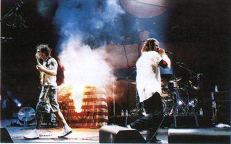 The isolated bass for Rage Against The Machine's protest smash 'Killing in the Name'