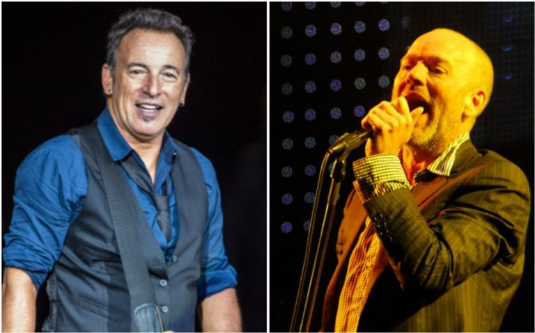 Revisit the moment Michael Stipe performed live with Bruce Springsteen