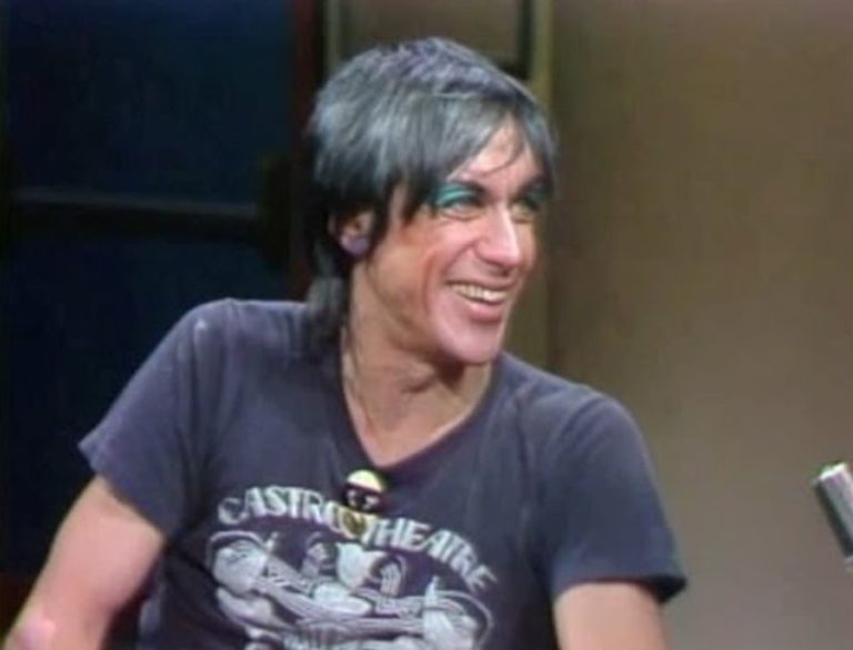 Watch Iggy Pop's first appearance on late night TV with Letterman, 1982