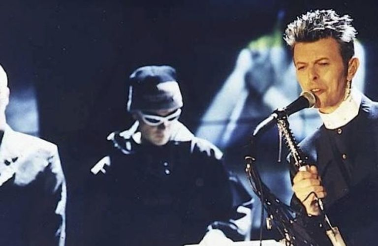 When David Bowie performed lived with The Pet Shop Boys