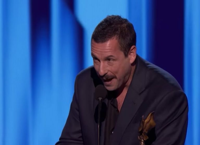 Adam Sandler wins 'Best Actor' at the Spirit Awards and delivers brilliant Oscars-related speech