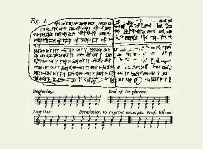 Listen to the oldest song in the world which was written 3,400 years ago