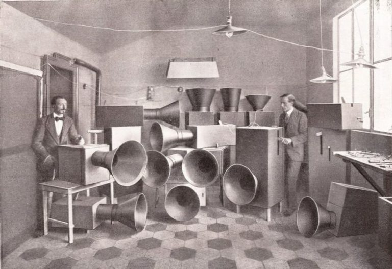 Luigi Russolo, the pioneer of experimental music