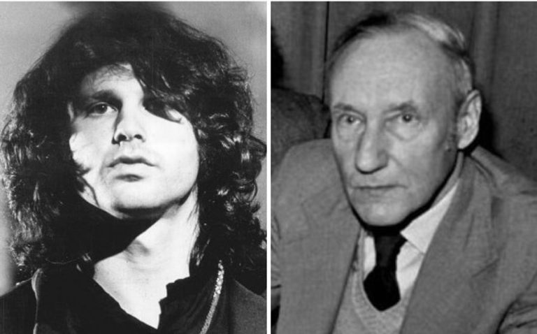 William S. Burroughs performs Jim Morrison's 'Is Everybody In?' with The Doors