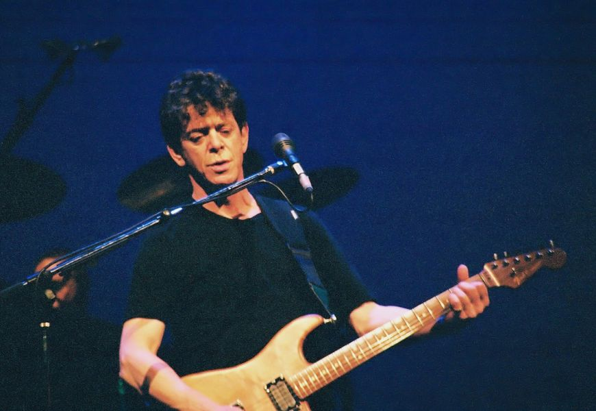 Watch Lou Reed's unique live cover of Smokey Robinson, 1994