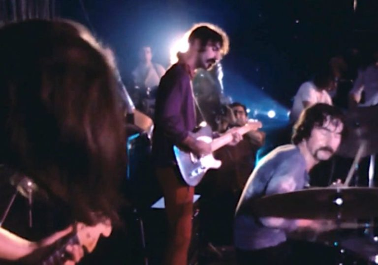 Watch footage of the surreal night Frank Zappa jammed with Pink Floyd