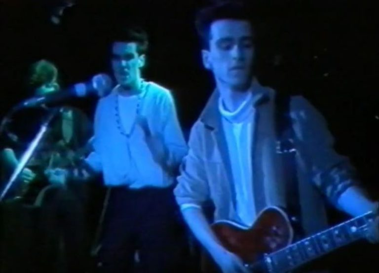 Watch a momentous performance from The Smiths in one of their earliest shows at The Hacienda