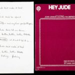 The Beatles' handwritten 'Hey Jude' lyrics sell for $910,000 at auction