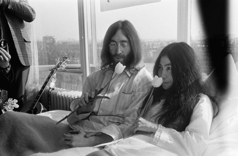 Lennon Ono Bed Protest