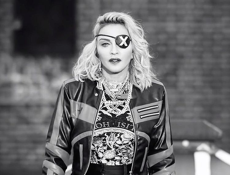 "Madonna calls coronavirus ""the great equaliser"" in bizarre video"