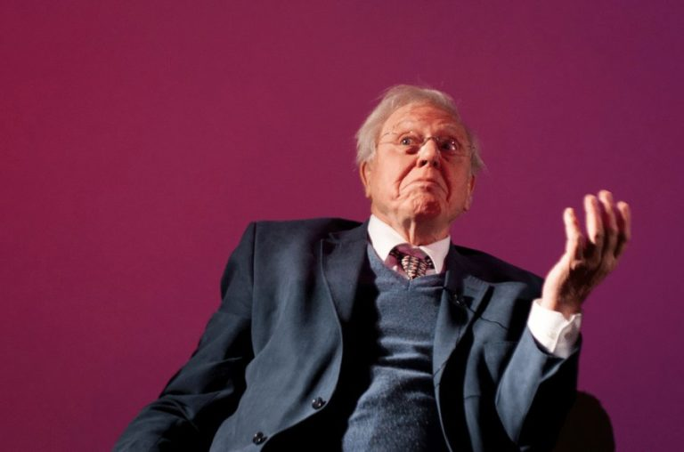 """Sir David Attenborough: """"Nature can be source of solace in crisis"""""""