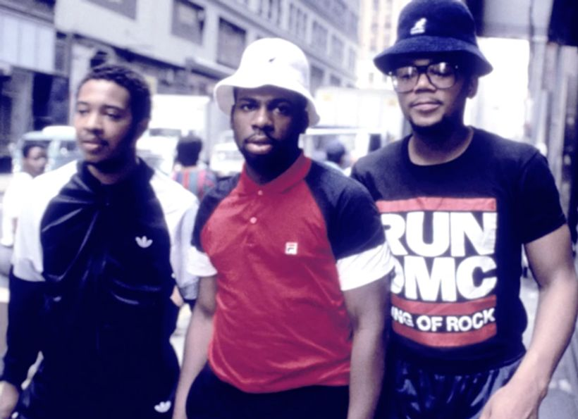 Watch rare footage of hip hop icons Run-DMC performing in New York City, 1984