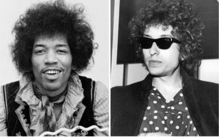 What happened when Jimi Hendrix met Bob Dylan for the first and only time
