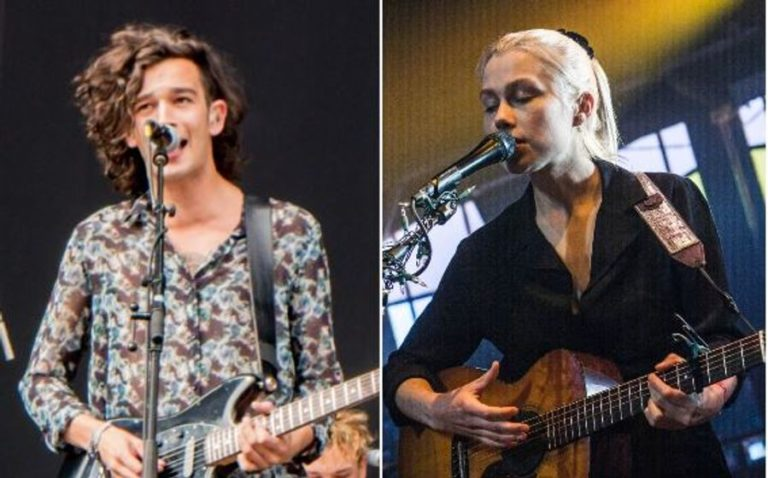 The 1975 release new song with Phoebe Bridgers