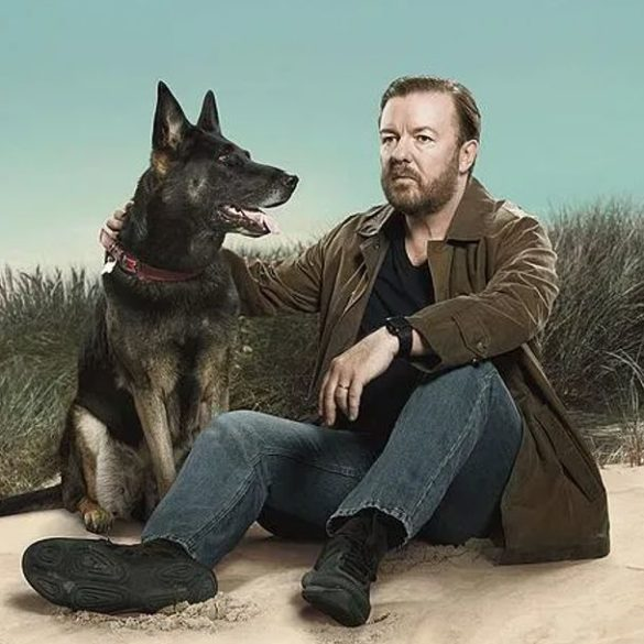 Ricky Gervais unleashes his inner-David Bowie in the creative sincerity of 'After Life 2'
