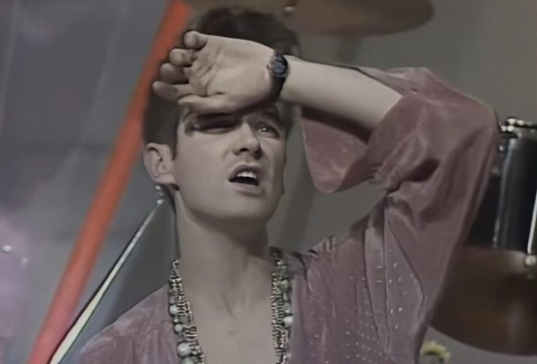Revisiting comical footage of The Smiths lip-syncing 'This Charming Man' television from 1983