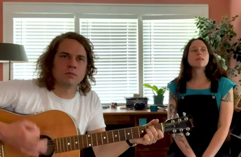 Watch Kevin Morby and Waxahatchee perform a home concert