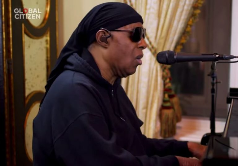 Watch Stevie Wonder cover Bill Withers' song 'Lean on Me' from self-isolation