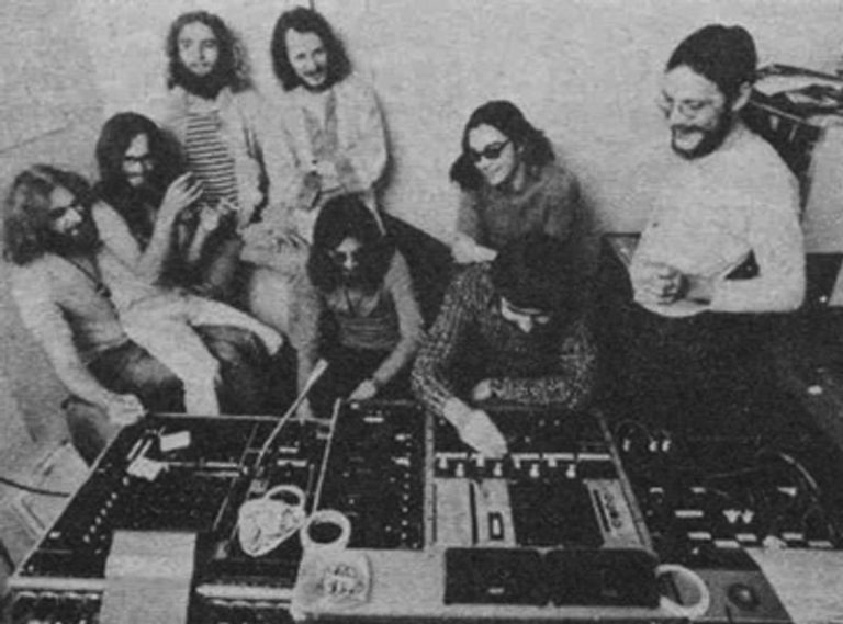 Watch rare footage of krautrock icons Faust jamming in the studio, 1971