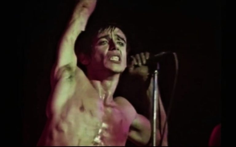 Watch Iggy Pop's chaotic performance of 'Lust For Life' on Dutch TV in 1977