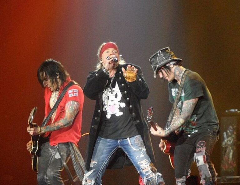 Guns 'N' Roses once incited a riot which resulted in them being banned from the city of St. Louis