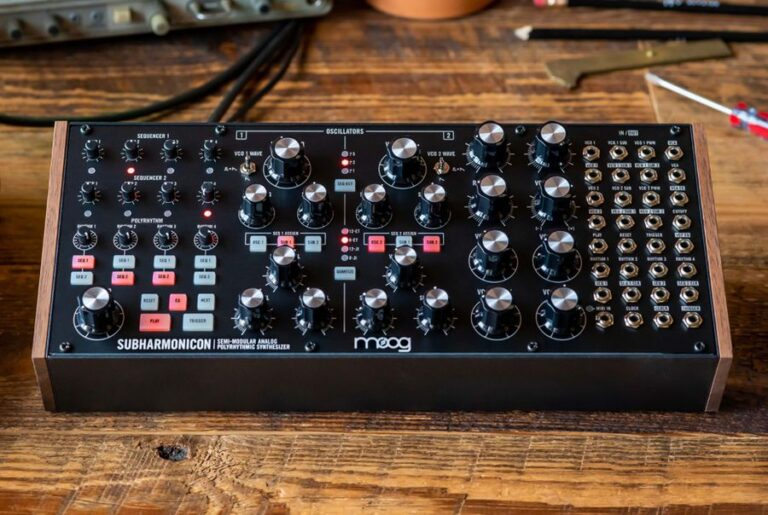 Moog announces new analogue synthesizer 'The Subharmonicon'