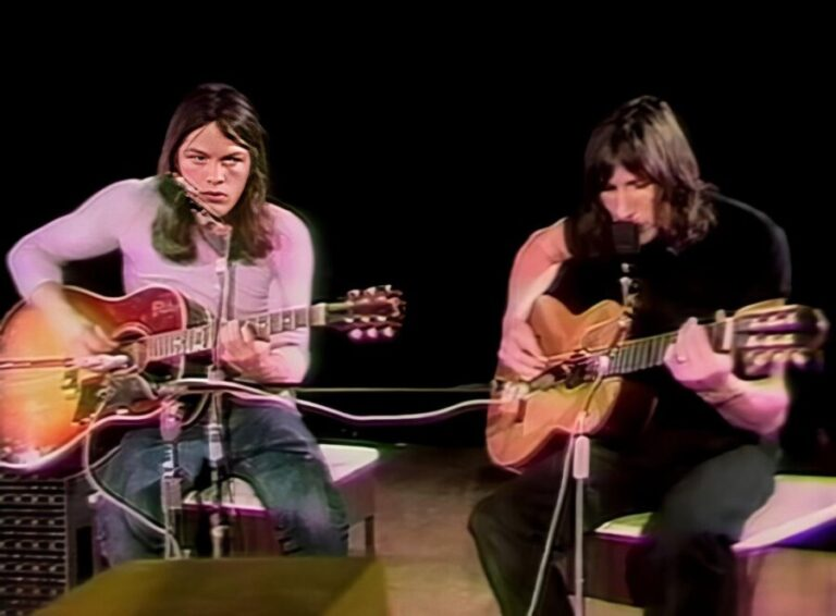 Pink Floyd release footage of rare 1970 TV performance