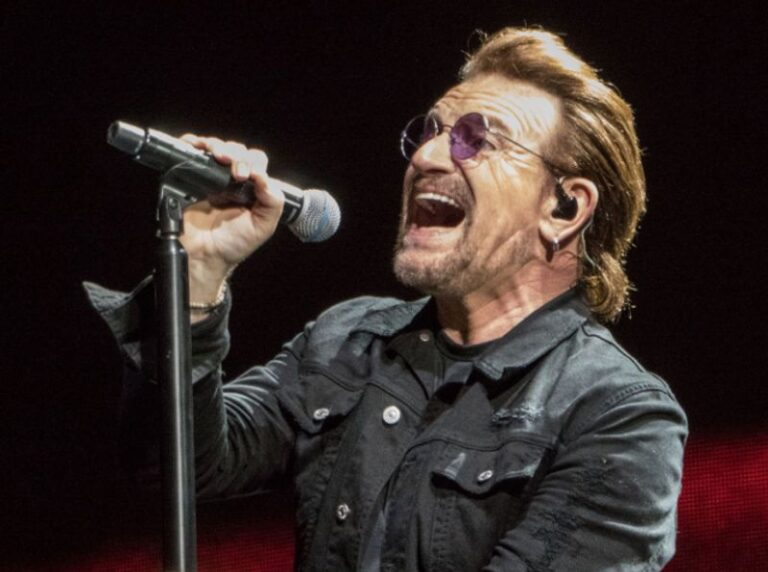 U2 frontman Bono writes a fan letter to The Beatles