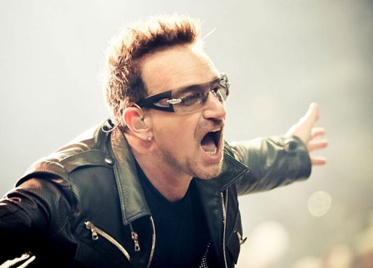 U2's Bono shares the 60 songs that 'saved his life'