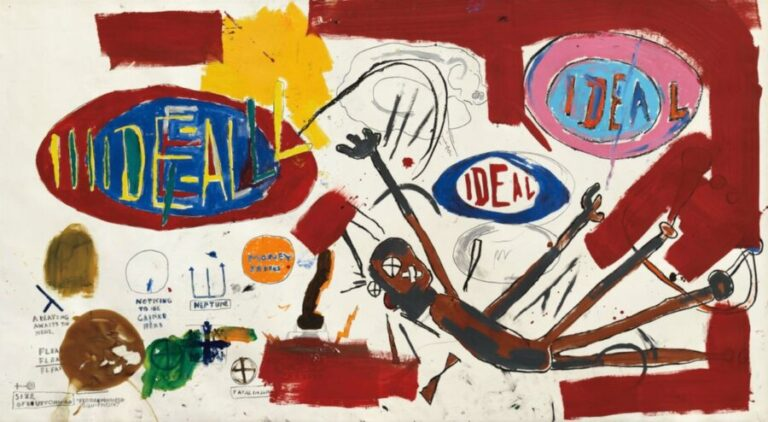 A $10million Jean-Michel Basquiat painting to be sold at auction