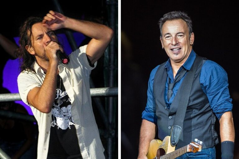 Eddie Vedder and Bruce Springsteen perform 'Better Man'