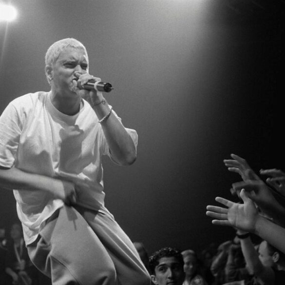 Eminem lists the 17 greatest rappers of all time