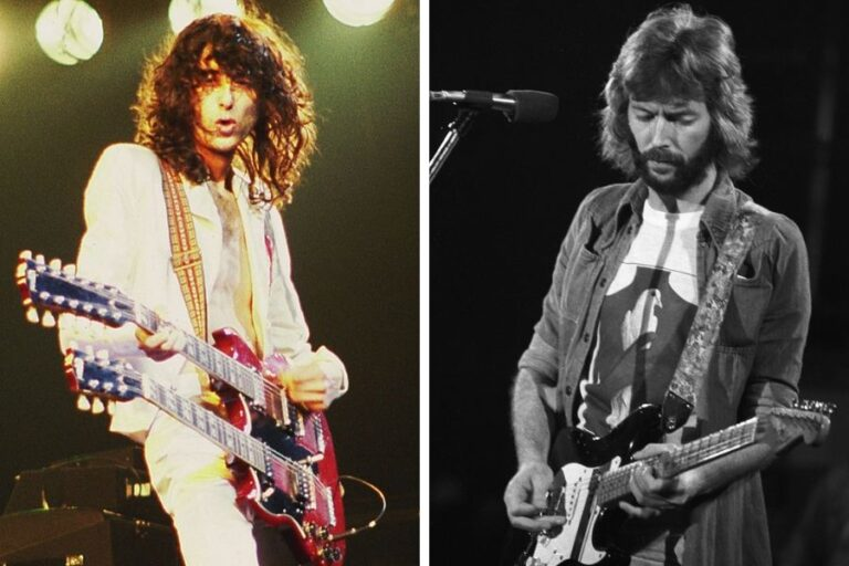 Led Zeppelin's Jimmy Page details his reaction to first witnessing Eric Clapton perform live