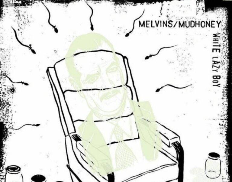 In what might be the best news we've heard all week, the members of Melvins and Mudhoney have joined forces for a new EP called White Lazy Boy.