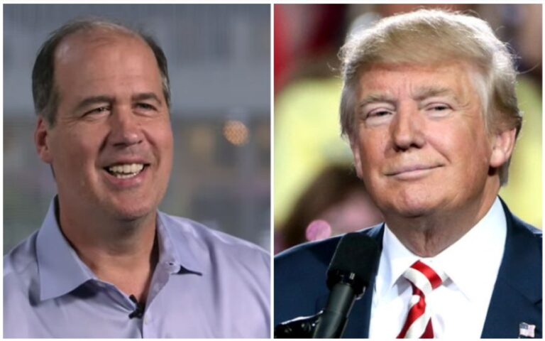 Nirvana bass player Krist Novoselic praises Donald Trump for 'strong and direct' law and order speech