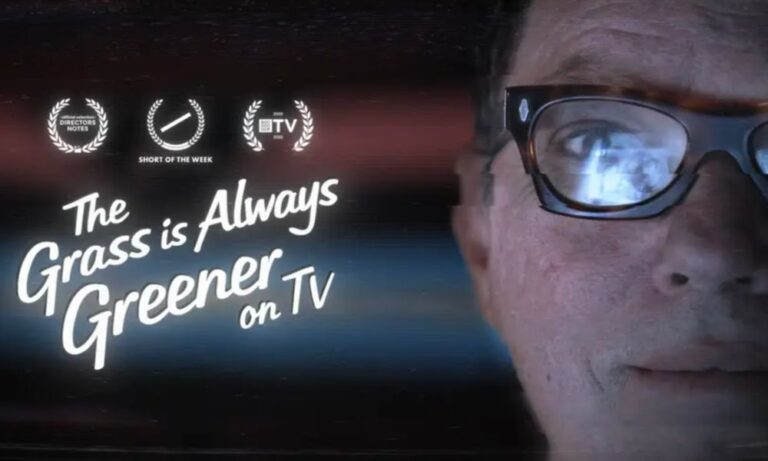 The creators of the compelling documentary 'The Grass is Always Greener on TV'