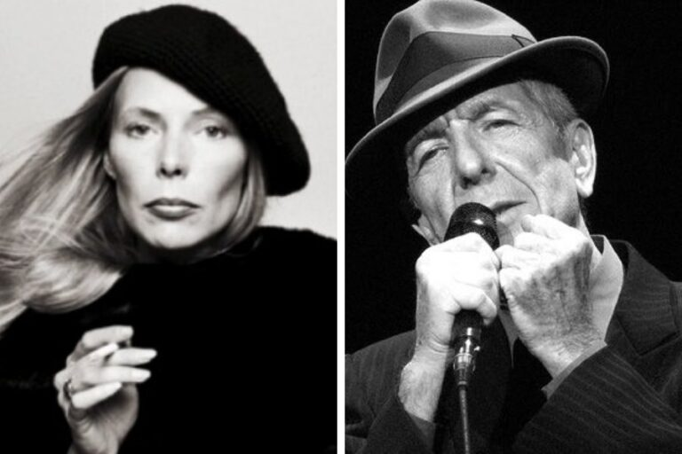 The song Joni Mitchell wrote as a farewell to her love affair with Leonard Cohen