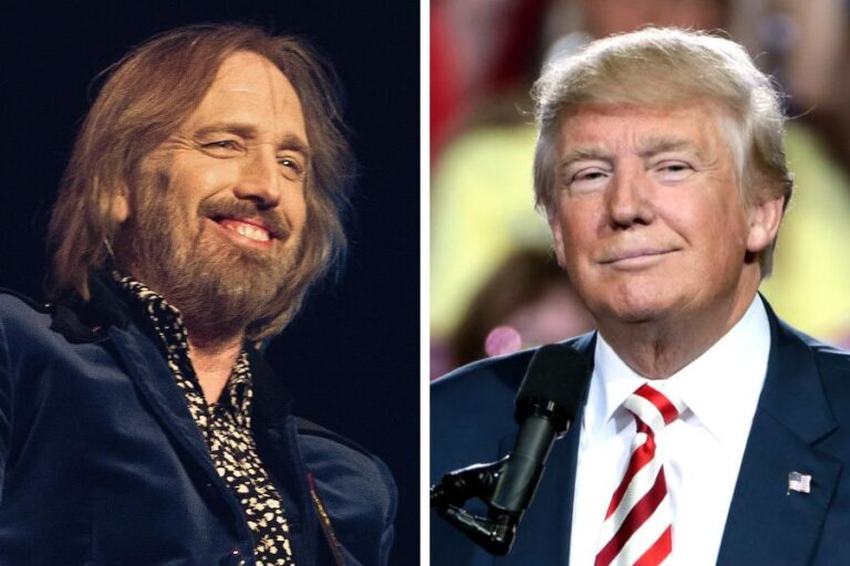 Tom Petty's family issues cease and desist to Donald Trump campaign