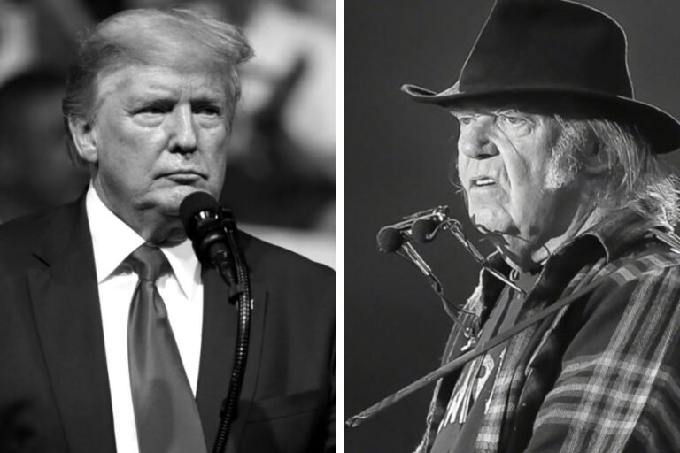 Neil Young reacts angrily to Donald Trump's use of his music