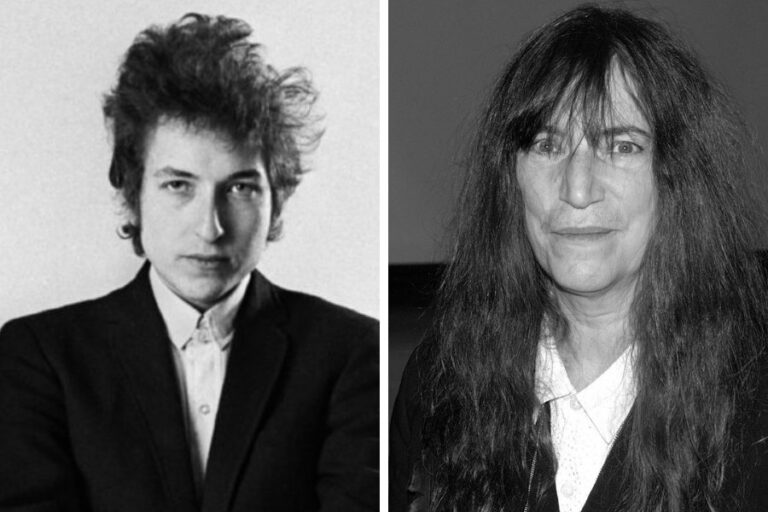 """The Wicked Messengers"" of music: Listen to Patti Smith's daring cover of Bob Dylan"