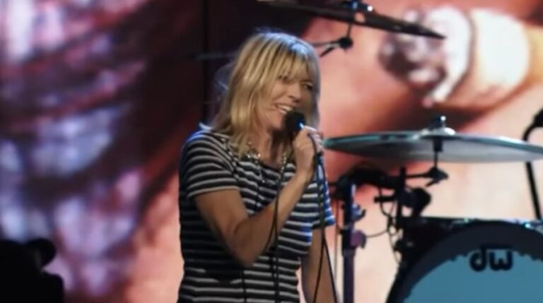 Revisit the moment Kim Gordon fronted Nirvana to play 'Aneurysm'