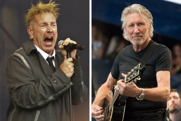 Roger Waters once invited Johnny Rotten to be an honorary member of Pink Floyd