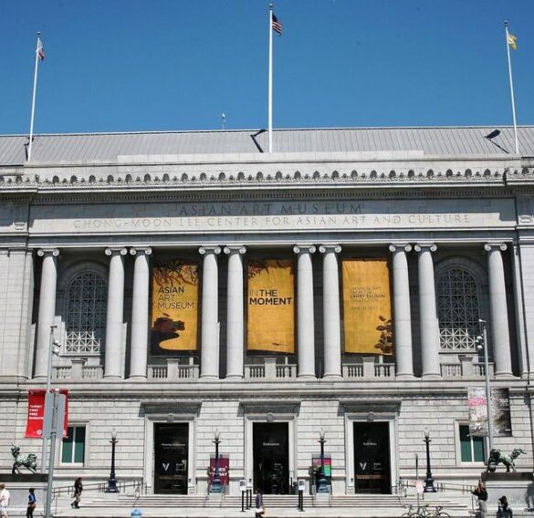 San Francisco's Asian Art Museum will remove a statue of its founder