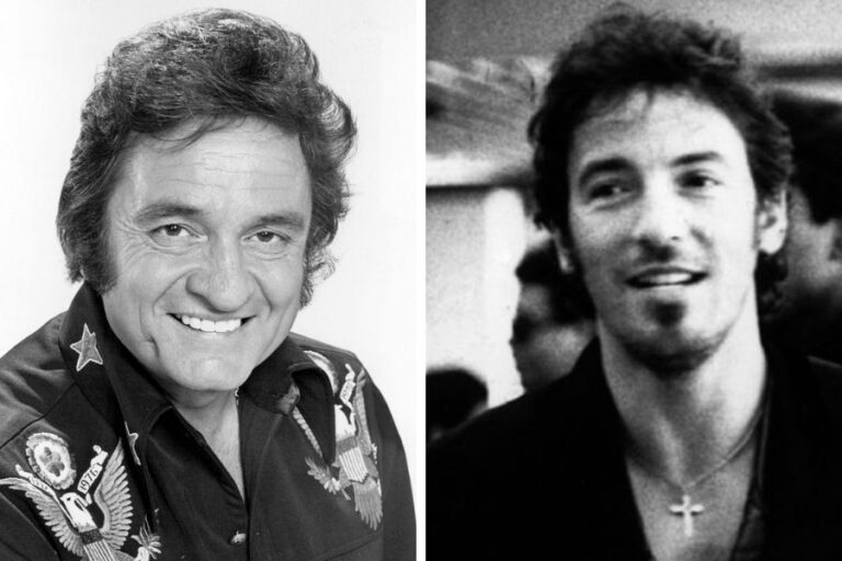 Bruce Springsteen covers Johnny Cash's 'Give My Love To Rose' and reveals what The Man in Black taught him