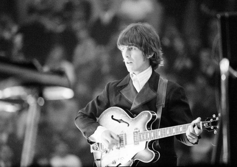 George Harrison's unique isolated guitar solo in The Beatles song 'Something'