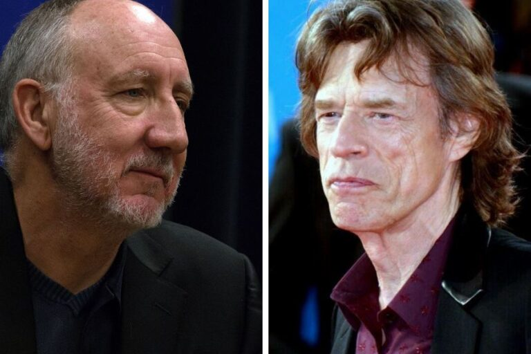 The Who's Pete Townshend said Mick Jagger is the only man he ever wanted to have sex with