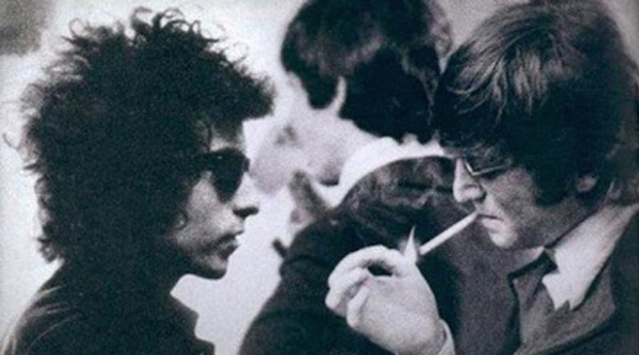The day Bob Dylan met The Beatles